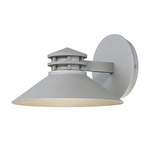 Sodor Graphite 8-Inch LED Outdoor Wall Light