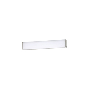 Strip Brushed Aluminum 18-Inch 3500K LED Bath and Wall Light