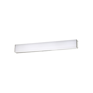 Strip Brushed Aluminum 24-Inch 2700K LED Bath and Wall Light