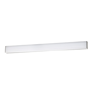 Strip Brushed Aluminum 36-Inch 3000K LED Bath and Wall Light