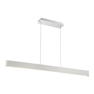 Volo Brushed Aluminum 54-Inch LED Pendant