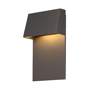 Zealous Bronze 6-Inch LED Outdoor Wall Light