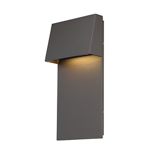 Zealous Bronze 7-Inch LED Outdoor Wall Light