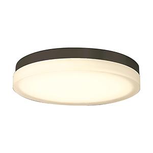 Slice Bronze 15-Inch LED Flush Mount with 3000K Soft White