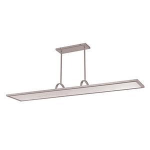 Line Brushed Aluminum LED Pendant with 3000K Soft White