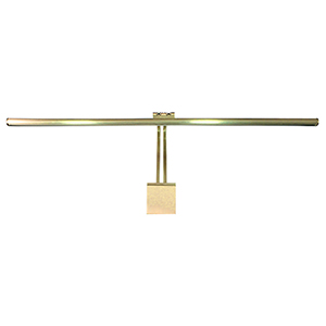 Vibe Satin Brass 37-Inch LED Picture Light