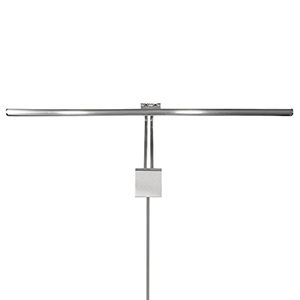Vibe Chrome 37-Inch LED Picture Light with Plug-in Cord