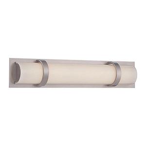 Vie Brushed Nickel 18-Inch LED Bath Light