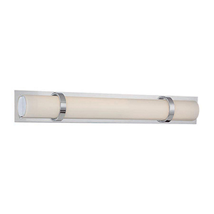 Vie Chrome 24-Inch LED Bath Light