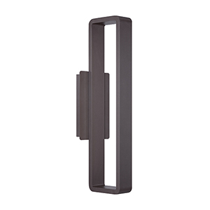 Janus Bronze 22-Inch LED Outdoor Wall Light