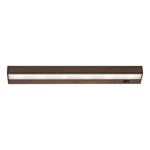 Bronze LED Light Bar 18-Inch Under Cabinet Fixture