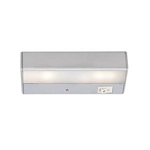 Satin Nickel 6-Inch LED Under Cabinet Fixture