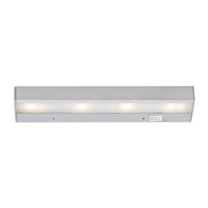 LED Satin Nickel 12-Inch Under Cabinet Fixture