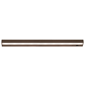 Bronze 30-Inch LED Bar Under Cabinet Fixture