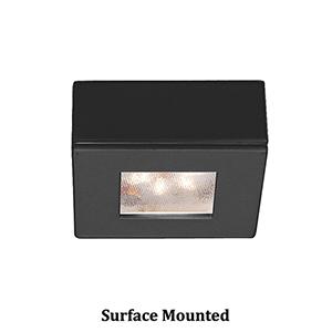 LEDme Button Lights Black 0.88-Inch Under Cabinet Fixture