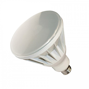 White BR40 Dimmable LED Lamp