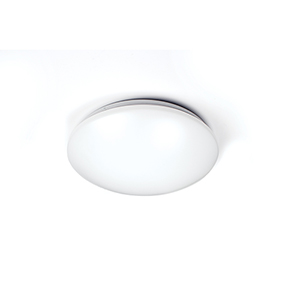 Glo White 11-Inch 2700K LED ADA Flush Mount