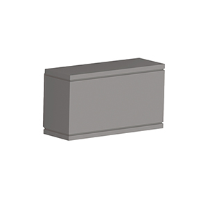 Rubix Graphite One-Light LED Outdoor Wall Sconce