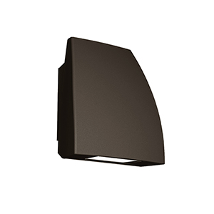 Endurance Fin Architectural Bronze One-Light LED Flood Light