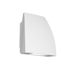 Endurance Fin Architectural White One-Light LED Flood Light