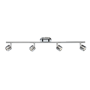 Vector Chrome One-Light LED Rail Kit