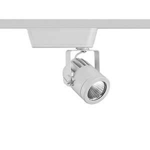 Precision White LED Low Voltage Flood Beam H-Track Head, 3500K