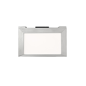 Line Brushed Aluminum 6-Inch LED Undercabinet Light, 2700K