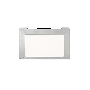 Line Brushed Aluminum 6-Inch LED Undercabinet Light, 3000K