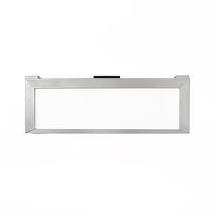 Line Brushed Aluminum 12-Inch LED Undercabinet Light, 2700K