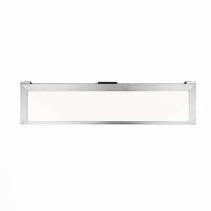 Line Brushed Aluminum 18-Inch LED Undercabinet Light, 2700K