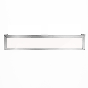 Line Brushed Aluminum 24-Inch LED Undercabinet Light, 2700K