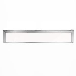 Line Brushed Aluminum 24-Inch LED Undercabinet Light, 3000K