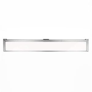 Line Brushed Aluminum 30-Inch LED Undercabinet Light, 3000K