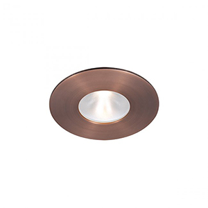 Tesla Copper Bronze 2-Inch Pro LED Trim with 55 Degree Beam, 3000K