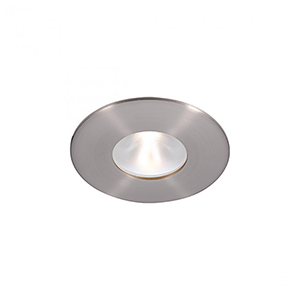 Tesla Brushed Nickel 2-Inch Pro LED Trim with 30 Degree Beam, 2700K
