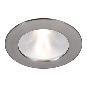 Tesla Brushed Nickel 3.5-Inch Pro LED Trim with 48 Degree Beam, 3000K