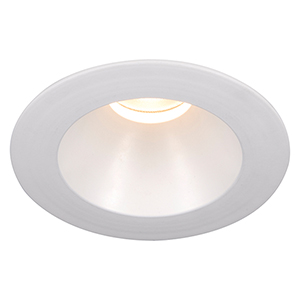 Tesla White 3.5-Inch Pro LED Trim with 55 Degree Beam, 2700K