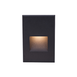 LEDme Black LED 277V Vertical Step and Wall Light