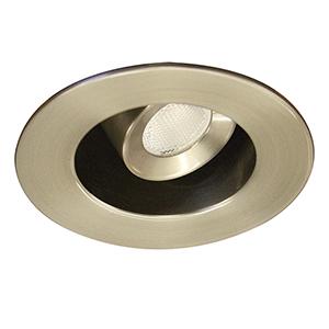 LEDme Brushed Nickel LED Mini Adjustable Task Light with 2700K Warm White