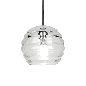 Clarity Chrome LED Mini Pendant