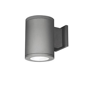 Tube Architectural  5-Inch LED Wall Light Away from Wall Beam 2700K in Graphite