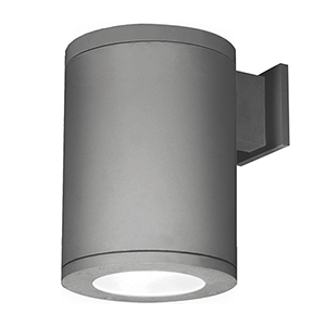 Tube Architectural  8-Inch LED Wall Light Towards Wall Beam 2700K in Graphite