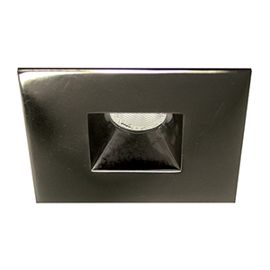 LED Squareme Gunmetal LED Square Mini Recessed Light with 2700K Warm White