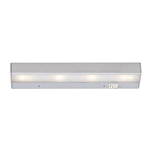LEDme Satin Nickel 12-Inch 120V Light Bar 2700K Warm White