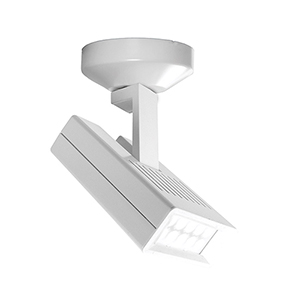 Argos White LED Spot Light with 3000K Soft White and Flood Beam Spread
