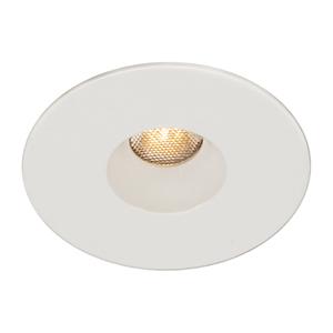 LEDme White LED Round Mini Recessed Light with 2700K Warm White