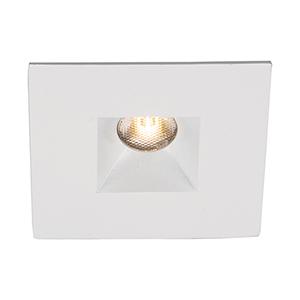 LEDme White LED Square Mini Recessed Light with 3500K Cool White