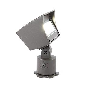 Bronze Adjustable LED Output Line Voltage Landscape Flood Light