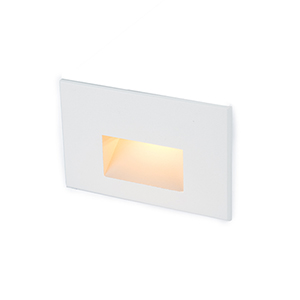 White LED Three-Inch Low Voltage Landscape Step and Wall Light, 2700 Kelvins