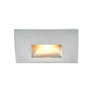 White Amber LED Low Voltage Landscape Step and Wall Light